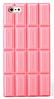 Силиконовый чехол розовая шоколада для iphone 5/5S