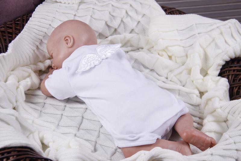 "Боди для малышей ""Ангел"", белый"