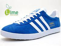 Кроссовки, Adidas Gazelle Blue, фото 1