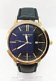 Чоловічі наручні годинники Негмеѕ, золото з чорним ремінцем ( код: IBW635YB ), фото 2