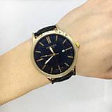 Чоловічі наручні годинники Негмеѕ, золото з чорним ремінцем ( код: IBW635YB ), фото 5
