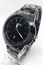 Годинники чоловічі наручні чорні ( код: IBW678B )