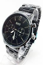Годинники чоловічі наручні чорні ( код: IBW679B )