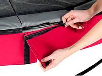 Батут EXIT Elegant Premium red, фото 4