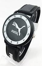 Годинники жіночі наручні спортивні Puma (Пума), чорні з білим ( код: IBW699BO )