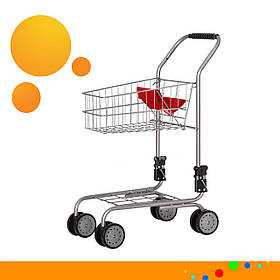 Дитячий візок для супермаркету Carrello Trolley 9328B Red Червоний