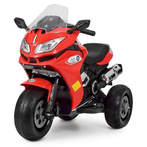 Мотоцикл дитячий двомоторний M 3688 EL-3 червоний