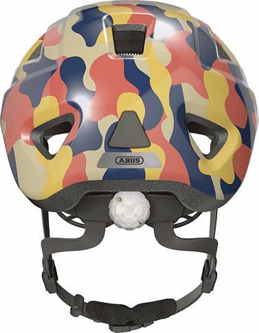 Велосипедный детский шлем ABUS ANUKY 2.0 ACE S 46-51 Color Wave 405358, фото 3