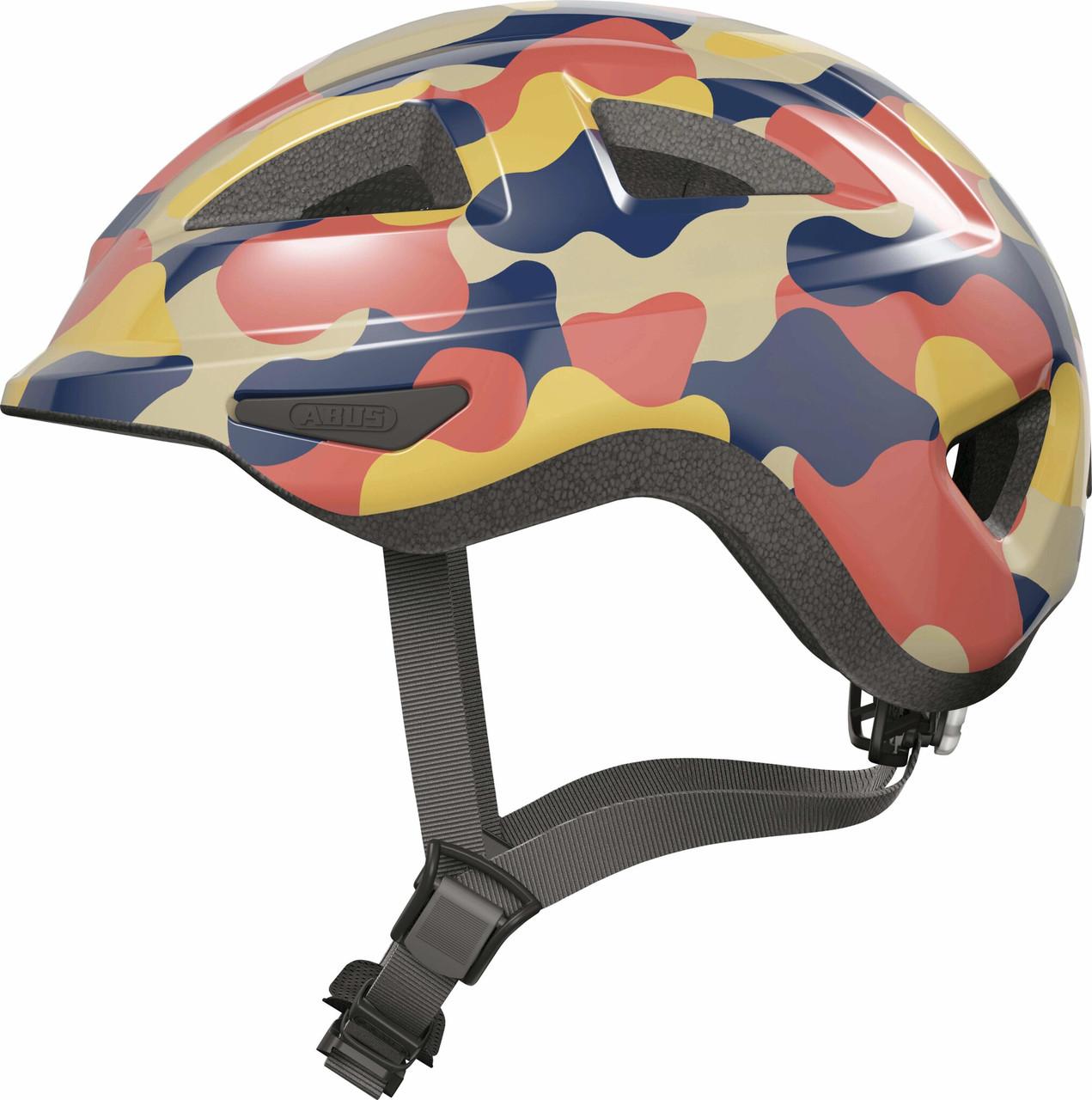 Велосипедный детский шлем ABUS ANUKY 2.0 ACE S 46-51 Color Wave 405358