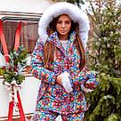 Зимовий костюм куртка+комбінезон 11442, фото 2