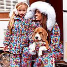 Зимовий костюм куртка+комбінезон 11442, фото 5