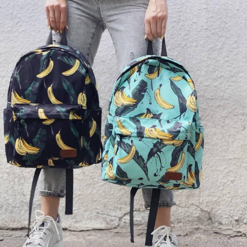 Молодежный рюкзак с бананами