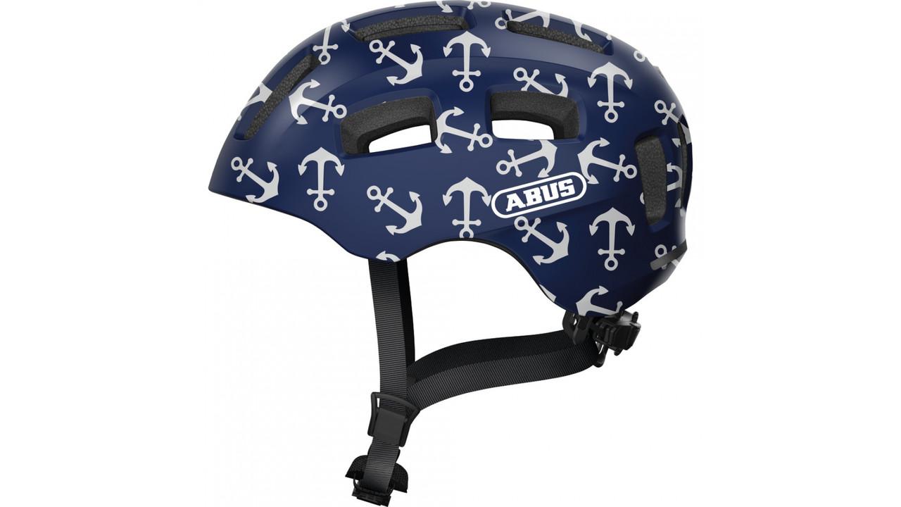 Велосипедний дитячий шолом ABUS YOUN-I 2.0 M 52-58 Blue Anchor 638152