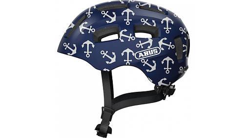Велосипедний дитячий шолом ABUS YOUN-I 2.0 M 52-58 Blue Anchor 638152, фото 2