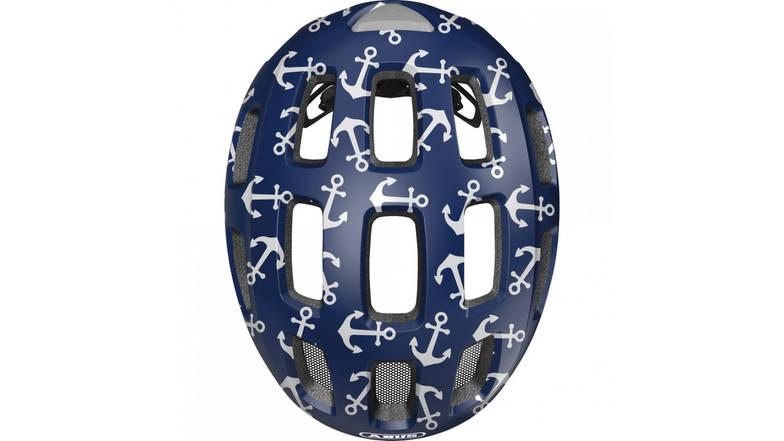 Велосипедний дитячий шолом ABUS YOUN-I 2.0 M 52-58 Blue Anchor 638152, фото 3