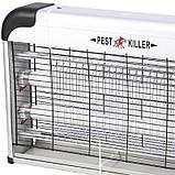 Електричний знищувач комах і комарів Pest Killer Lesko PK-30A потужністю 30 Вт (4391-12928), фото 4