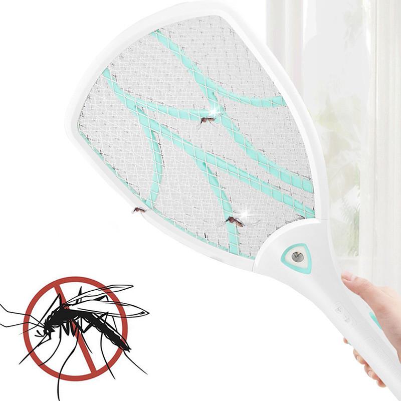 Электрический уничтожитель для мух Lesko N906 Голубой (4393-12907)