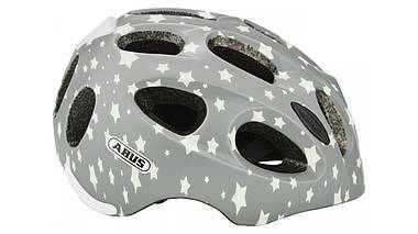 Велосипедный детский шлем ABUS YOUN-I 2.0 S 48-54 Grey Star 638107, фото 3