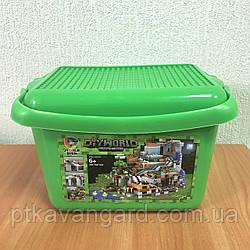 Конструктор в ящике Майнкрафт Шахта с сокровищами Minecraft My World 7434