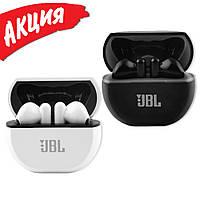 Беспроводные наушники вкладыши JBL TX-81 Bluetooth гарнитура с микрофоном для смартфона с кейсом USB Type-c