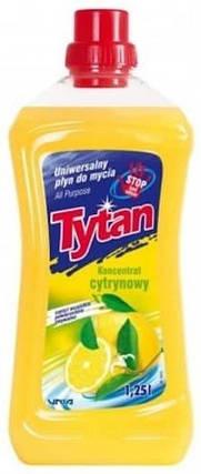 Универсальное моющее средство Tytan концентрат лимон 1,25л, фото 2