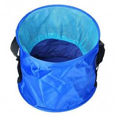 Відро складне для води (6 літрів), синє