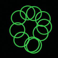 Водонепроницаемые уплотнительные кольца для фонарей (24 x 1.5mm), зеленые светящиеся в темноте