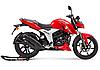 Мотоцикл с бесплатной доставкой 160 куб. TVS Apache RTR 160 4V собранный