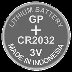 Батарейка дискова літієва CR2032 GP 3V