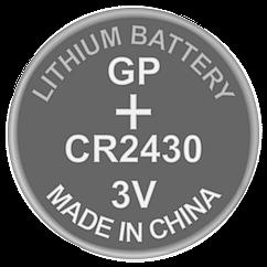 Батарейка дискова літієва CR2430 GP 3V