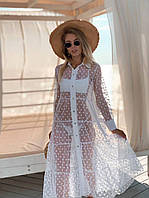 """Пляжна накидка жіноча довга розміри 42-46 """"STILNAYA"""" недорого від прямого постачальника"""
