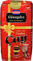 Чай чорний цейлонський крупнолистовий Gunaydin Cay Ceylon 800 м (розсипний)