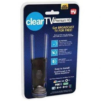 Цифровий ТВ антена Clear TV Premium 4K