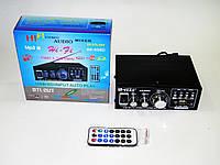 Усилитель Звука AK-698D FM USB Караоке 2x300 Вт, фото 1