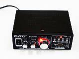 Усилитель Звука AK-698D FM USB Караоке 2x300 Вт, фото 2