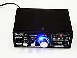 Усилитель Звука AK-698D FM USB Караоке 2x300 Вт, фото 3