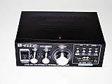 Усилитель Звука AK-698D FM USB Караоке 2x300 Вт, фото 4