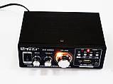 Усилитель Звука AK-698D FM USB Караоке 2x300 Вт, фото 6