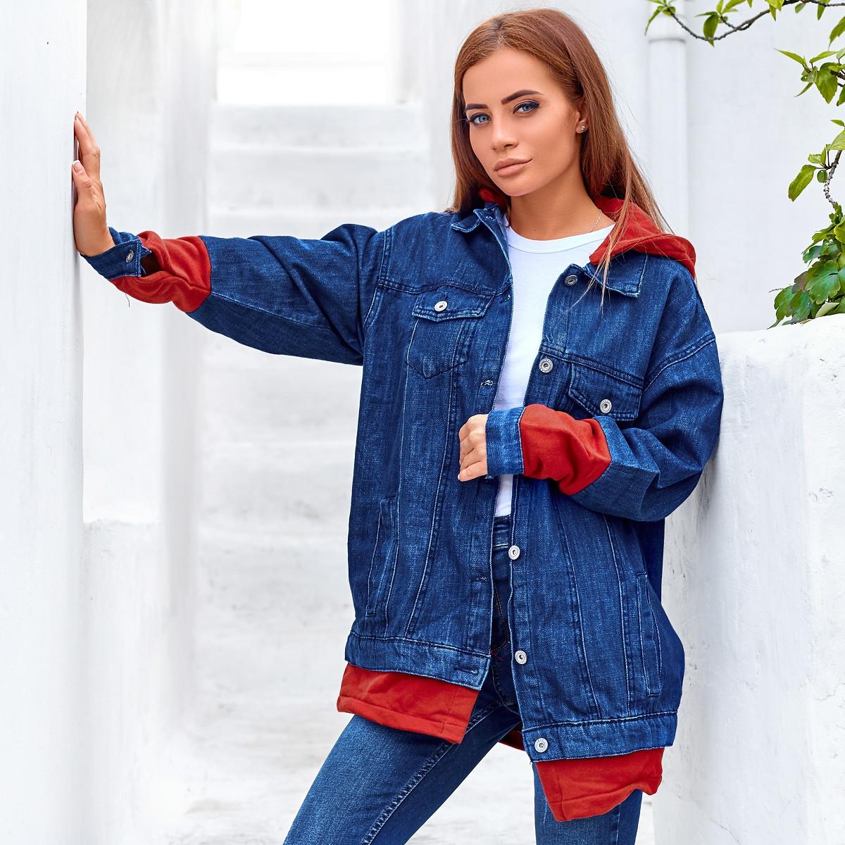 Джинсовая куртка 1405-0