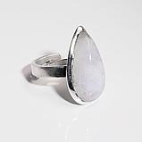 Місячний камінь Адуляр срібне кільце, 1783КА, фото 2