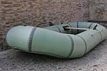 2-х місцева гумовий човен Лисичанка, фото 2