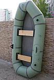 2-х місцева гумовий човен Лисичанка, фото 3