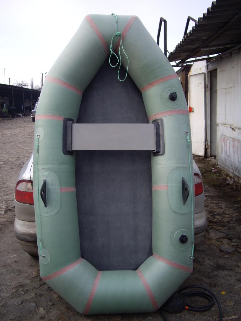 Надувная лодка гребная резиновая БЦК 1.5 местная