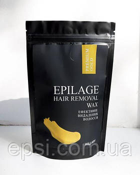 Гранули для епіляції Hillary Epilage Premium Gold 200 г 2314981016324