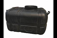 Бак для води прямокутний чорний 125л