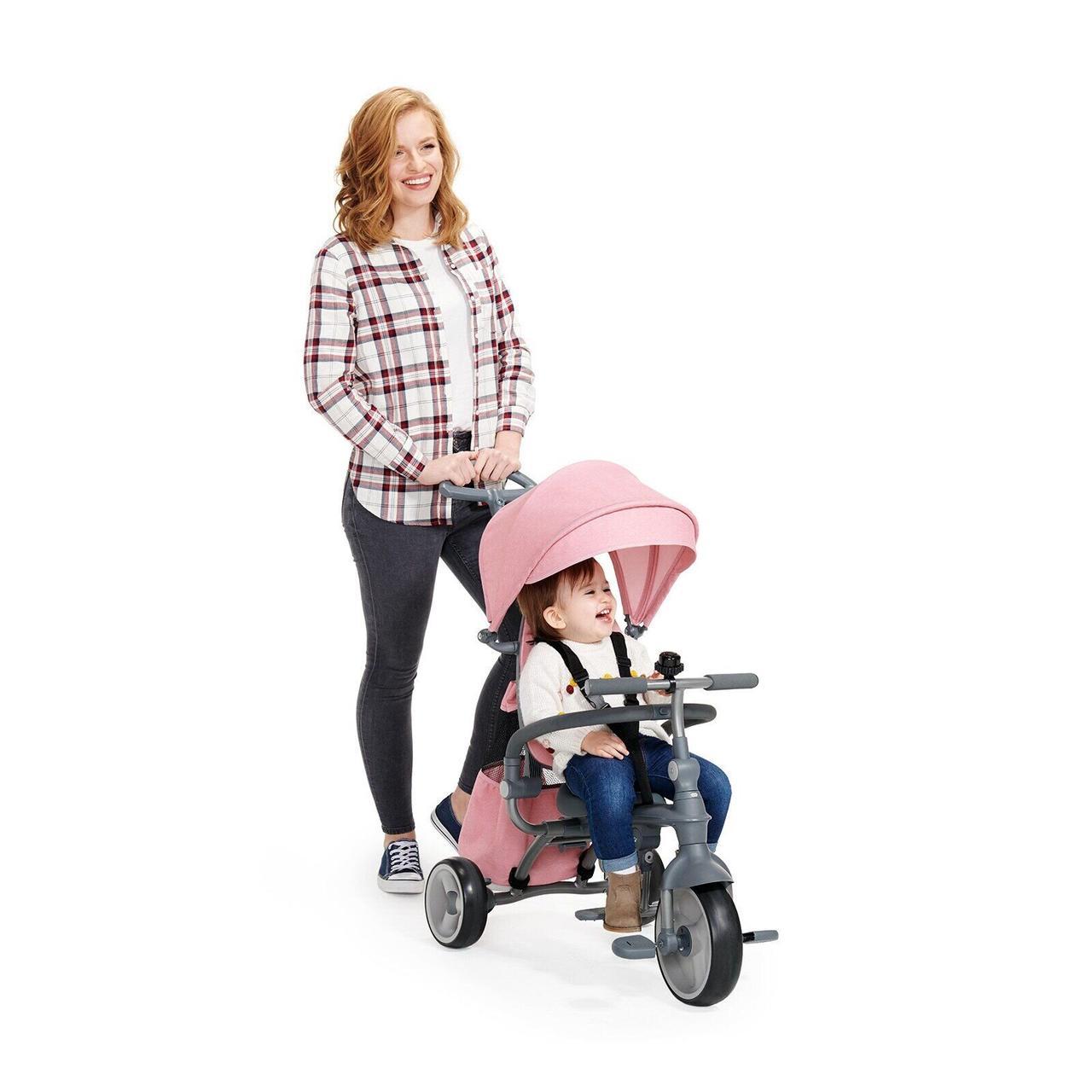 Триколісний велосипед Kinderkraft Jazz Pink (KKRJAZZPNK0000)