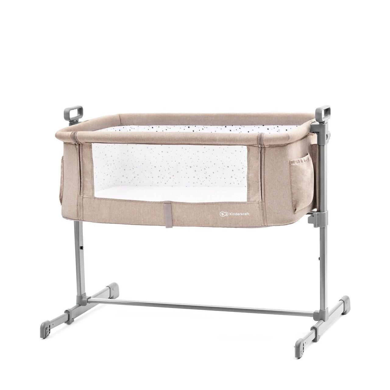 Доставне ліжко-люлька Kinderkraft Neste Beige (KKLNESTBEG0000)