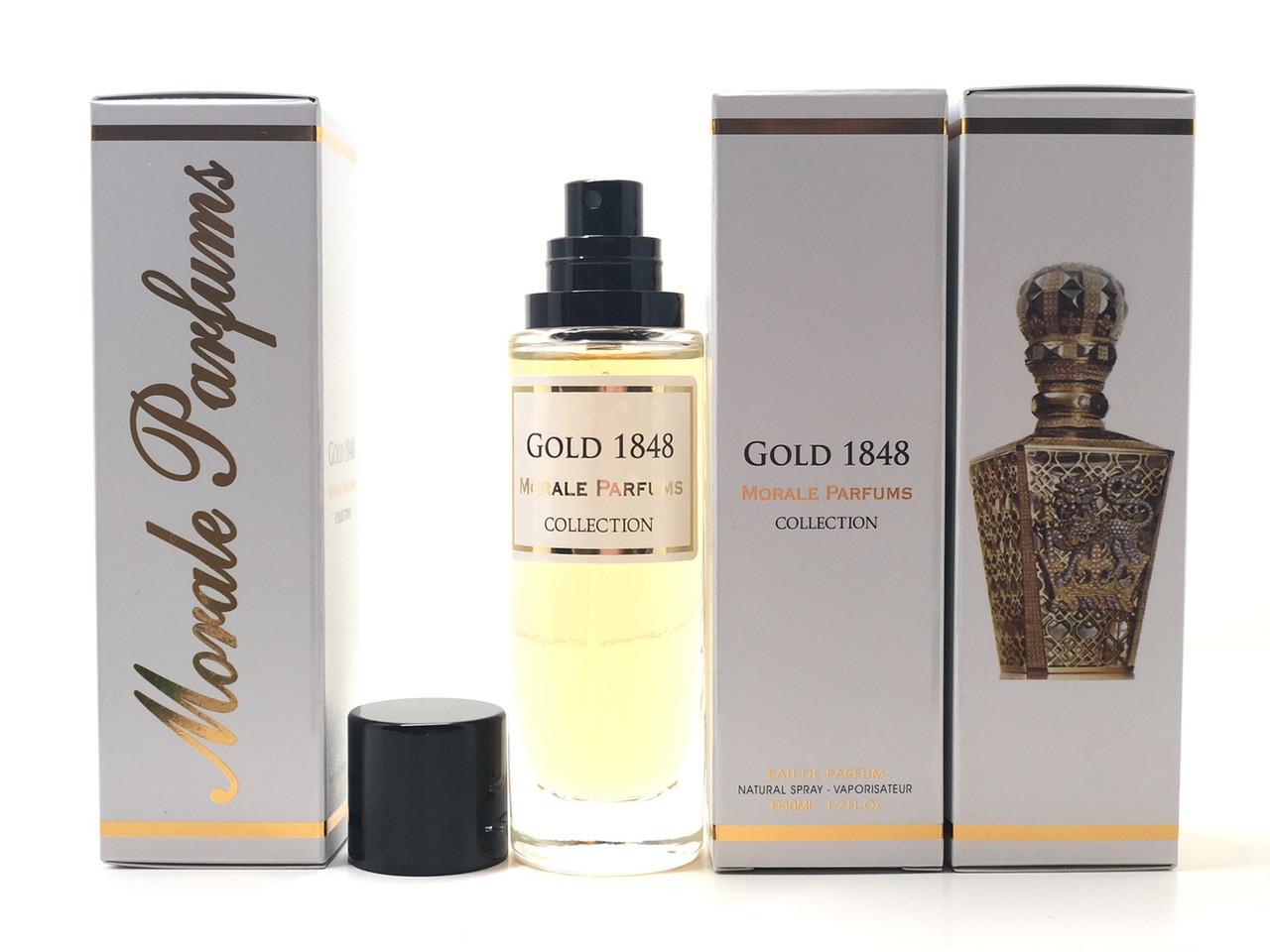 Аромат унисекс Gold 1848 Morale Parfums  (Голд 1848 Морал Парфюм) 30 мл