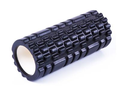 Роллер массажный для йоги пилатеса фитнеса 45*14 см Черный