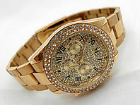 Женские часы Rolex Daytona, механические с автозаводом, золотистые